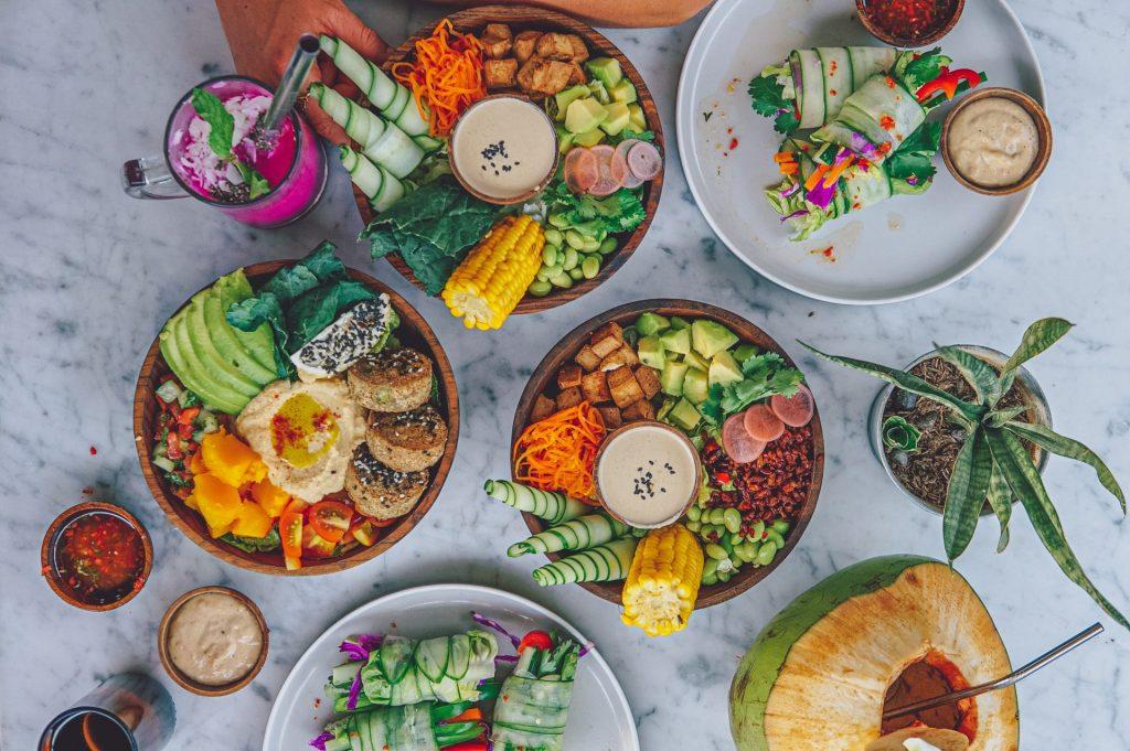Makanan Vegetarian Berkelas di Raw Cafe
