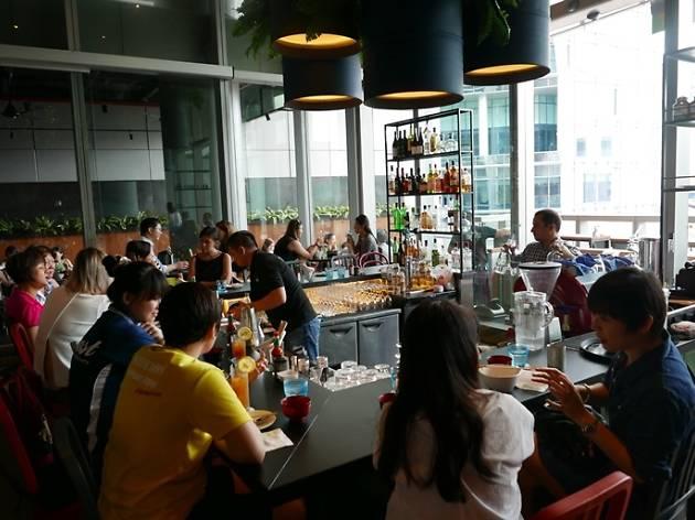 Menikmati Makanan Vegetarian Berkelas di Raw Cafe